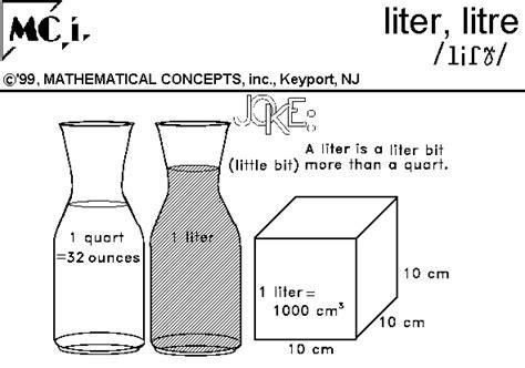 l liter
