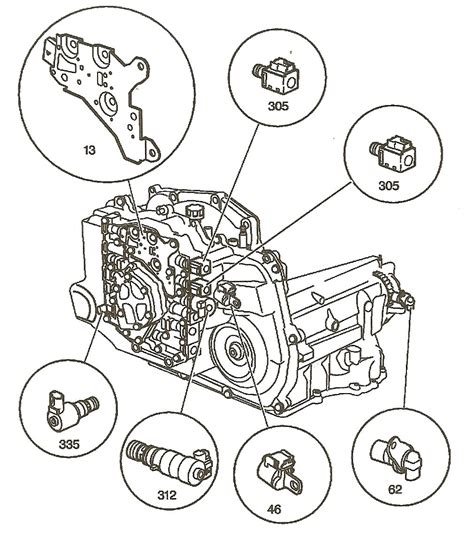 4t45e Automatic Transaxle Diagram by Transmission Repair Manuals 4t45e 4t40e For