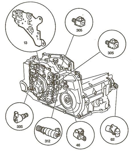 Hhr Drivetrain Diagram by Transmission Repair Manuals 4t45e 4t40e For