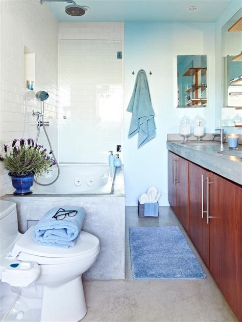 Spa Bathroom Images by Cool Blue Spa Like Bathroom Hgtv