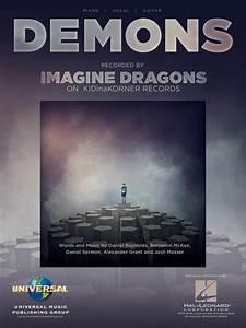 Demons Sheet Music By Imagine Dragons - Sheet Music Plus