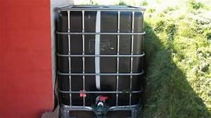 Recuperateur Eau De Pluie 1000 Litres : construire son r cup rateur d 39 eau de pluie ~ Premium-room.com Idées de Décoration