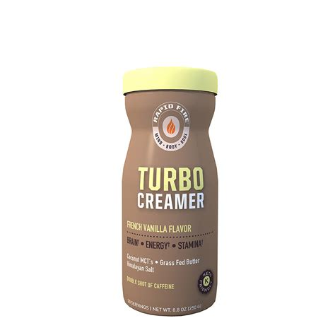 You can get the best discount of up to 50% off. Rapid Fire - Ketogenic Turbo Creamer - Product Overview ...