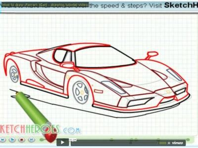 How To Draw A Boat Car by Learn How To Draw A Ship From The Titanic Clip 4