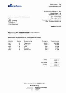 Muss Eine Rechnung Unterschrieben Werden : wordwelt extras briefe und sendungen rechnung ~ Themetempest.com Abrechnung