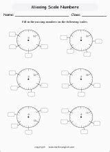 measuring balances mass printable grade  math worksheet