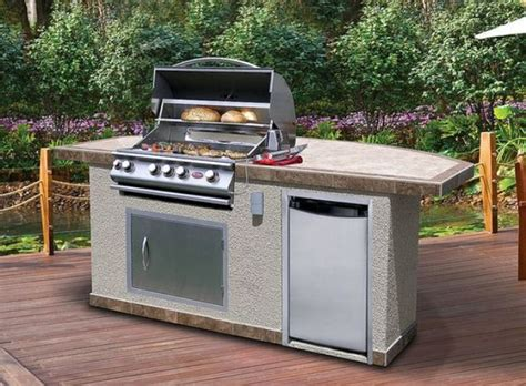 ideas  modular outdoor kitchens  pinterest outdoor grill area backyard kitchen
