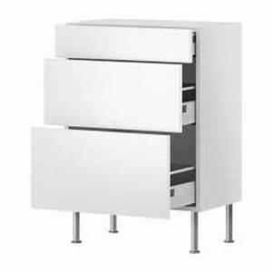 meuble bas cuisine avec tiroir ikea cuisine en image With meuble 3 tiroirs ikea