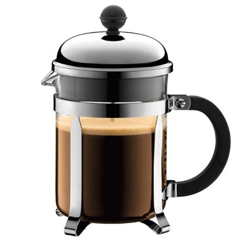 Significantly, the automatic pour over coffee maker comes with the option of an auto timer. Bodum Chambord 17oz Plastic French Press Coffee Maker - Whole Latte Love