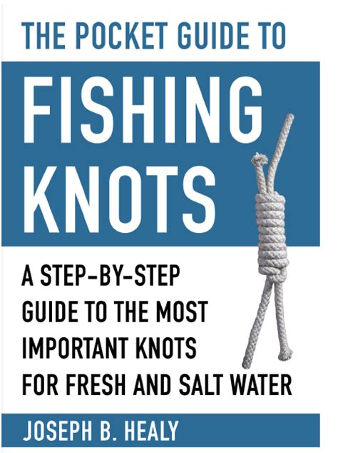 Boat Knots Book by New Book The Pocket Guide To Fishing Knots New