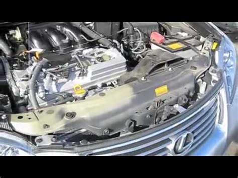 lexus es engine cleaning  removal  plastic engine
