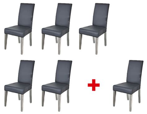 lot de 6 chaises grises lot de 5 chaises 1 offerte namur gris