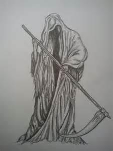 Death Grim Reaper Tattoo Design