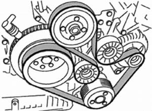 2000-05 Bmw X5 4 4l And 4 6l Serpentine Belt Diagram