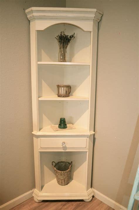 Small White Corner Bookcase by The 25 Best White Corner Bookcase Ideas On
