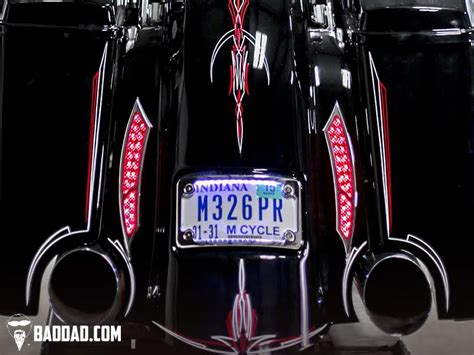 are leds bad for your 992 taillights bad dad custom bagger parts for your bagger