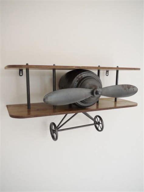 retro aeroplane shelf olive  sage