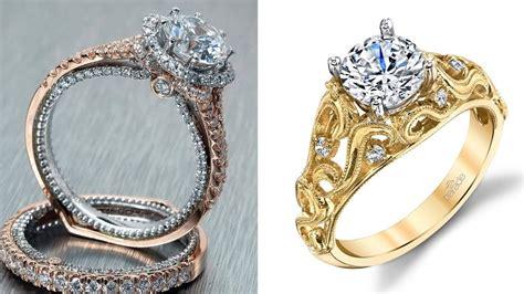 latest  gold diamond ring designs  female