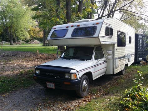 Toyota Motorhomes For Sale by 1990 Toyota Odyssey 3 0l 5 Spd Motorhome For Sale In