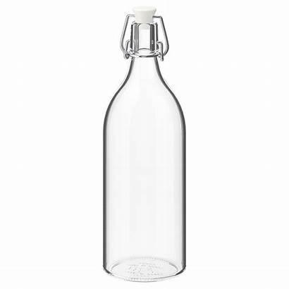 Glass Bottle Clear Ikea Stopper Korken