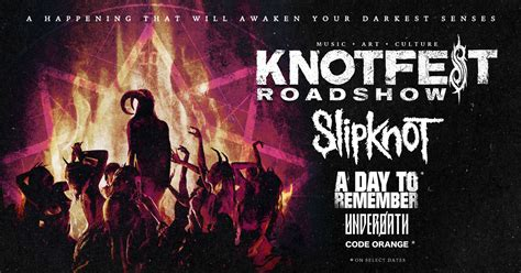 Slipknot Announce Knotfest Roadshow 2020 With Special ...