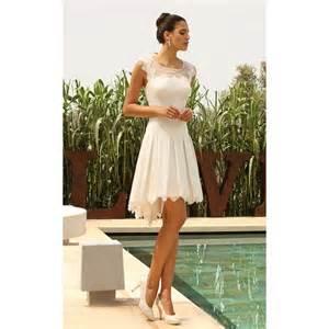robe de mariã e courte robe de mariée courte cario