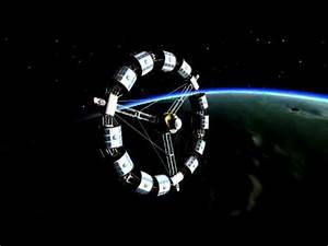 KSP - Rotating Space Station (Stock parts, no mods) - YouTube