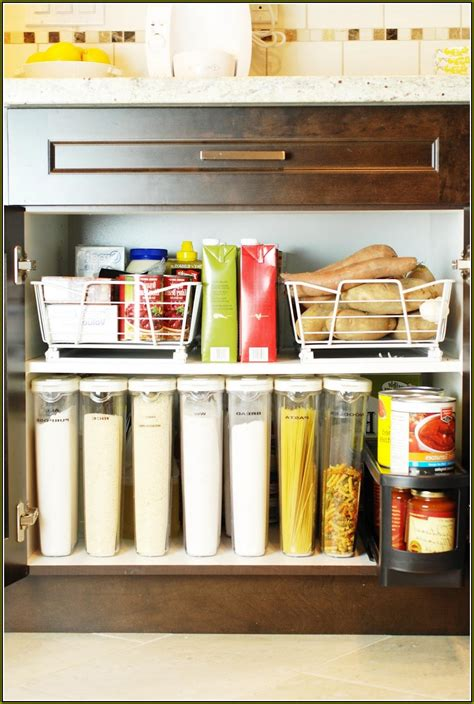 Rubbermaid Kitchen Cabinet Organizers  Image To U