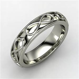Men39s Infinity Wedding Band