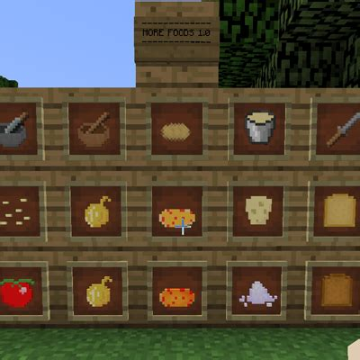 cuisine mod鑞e more foods food minecraft mods curse