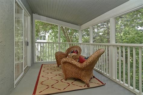 fashioned screened   porch traditional porch