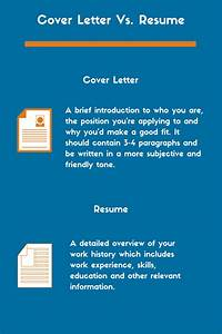 the difference between a cover letter and resume zipjob With what is the difference between cv and cover letter