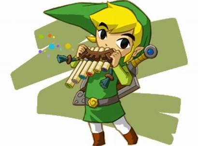 Zelda Legend Flute Link Spirit Tracks Instruments