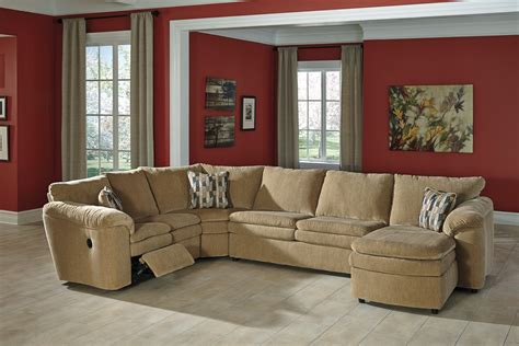Buy Ashley Furniture Coats Dune Reclining Sectional With