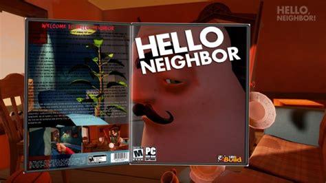 hello neighbor pc box cover by alex gozdecki