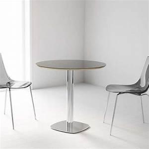 Table Ronde Cuisine : table de cuisine ronde en verre petit espace circus 4 ~ Teatrodelosmanantiales.com Idées de Décoration