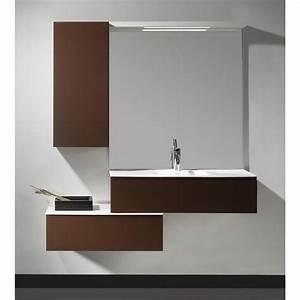 Plan Suspendu Pour Vasque : meuble suspendu 120 cm 1 tiroir plan vasque aland 120 ~ Teatrodelosmanantiales.com Idées de Décoration