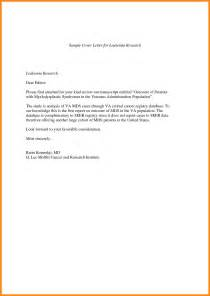 Brief Resume Cover Letter Exle by 6 Cover Letter Reporter Resume