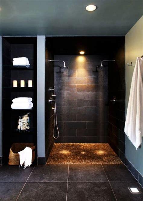 Bad Schwarze Fliesen by 82 Tolle Badezimmer Fliesen Designs Zum Inspirieren
