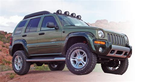 lifted jeep liberty skyjacker lib250k 2 5 quot platinum coil over lift kit for 02