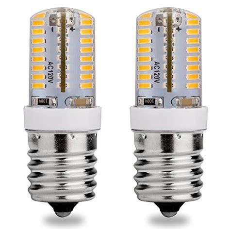 led appliance light bulbs e17 led bulb 120v ac warm white 3000k 3 watt 25w