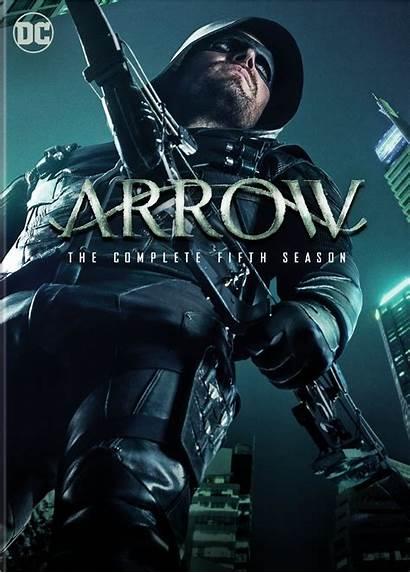 Arrow Dvd Season Complete Fifth Poster Series