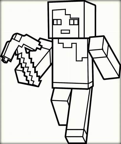 Minecraft Coloring Roblox Printable Kolorowanki Colorir Creeper
