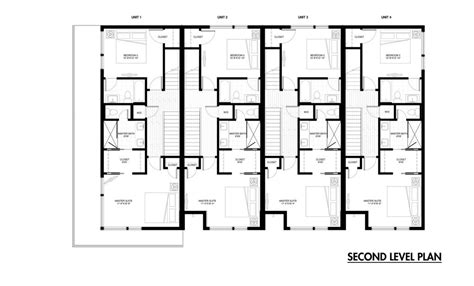 Row Home Floor Plan Beautiful Row House Plans Detached Row