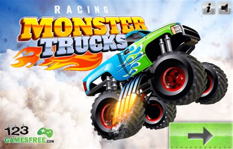 play monster truck racing games play game racing monster trucks free online racing games