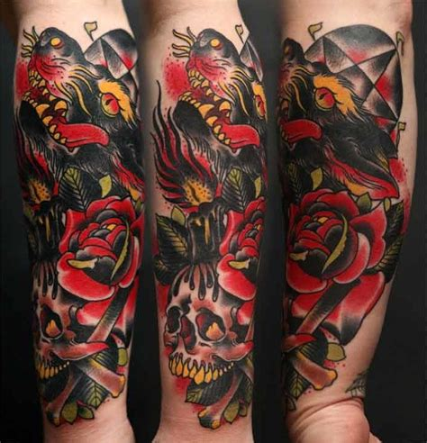 image result  neo traditional american tattoo