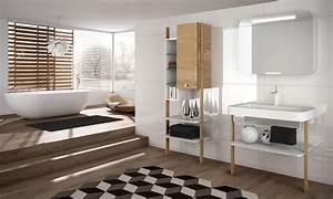 mobilier au design vintage scandinave relooker meubles With salle de bain chaleureuse