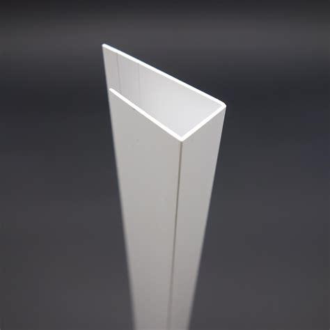 pvc u profil pvc u profil aus kunststoff 17 mm g 252 nstig kaufen paruschke