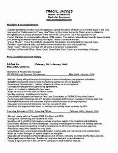 c level executive assistant resume free samples With executive level resume