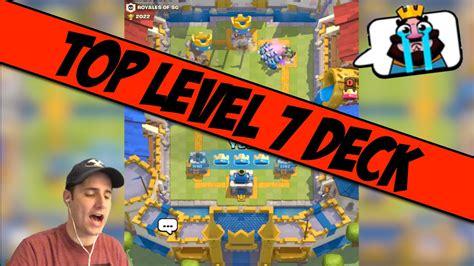 Best Level 7 Battle Deck! Clash Royale Tips! - YouTube